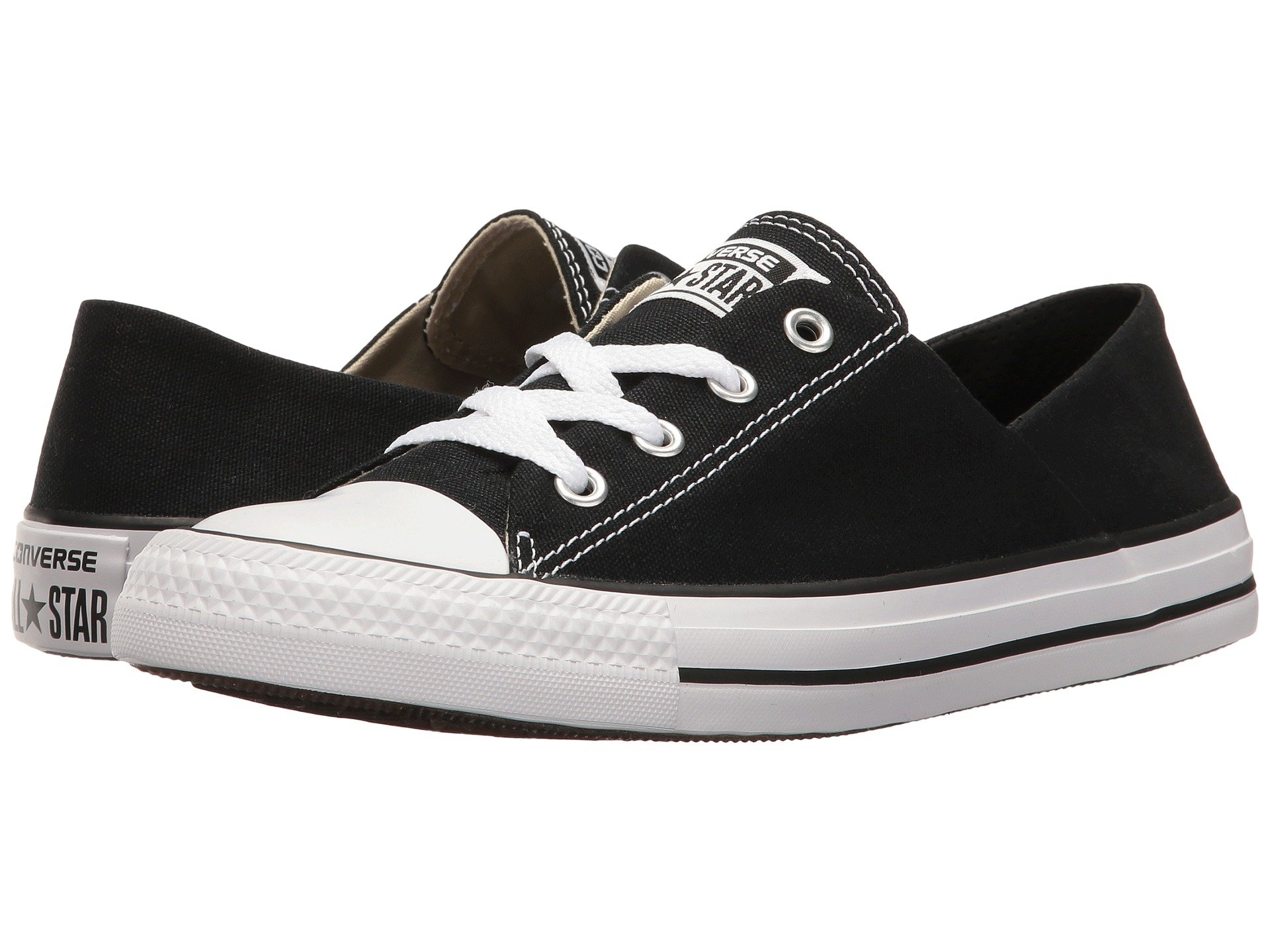 Chuck Taylor® All Star® Coral Ox in BlackWhiteBlack