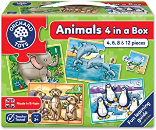 Orchard Toys Animals Puzzle (4 Piece)