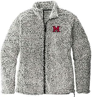 J2 Sport U of M University of Michigan Wolverines NCAA Ladies Cozy Fleece Jacket