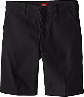 Dickies Girl Big Girls' Flex Waist Slim Fit Flat Front Short