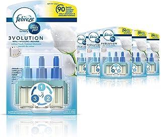 """Ambi Pur 3Volution luchtverfrisser, geur: """"Cotton Fresh"""", navulverpakking, elk 20 ml, 6 stuks"""