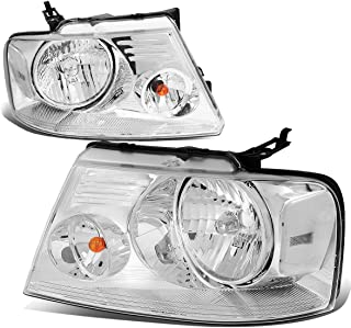 DNA Motoring HL-OH-F1504-CH-CL1 Headlight Assembly (Driver & Passenger Side)