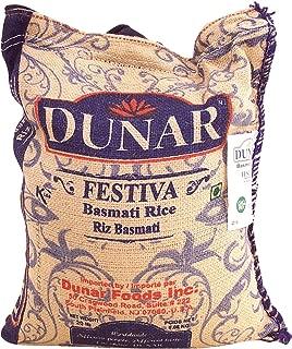 Dunar Festiva basmati rice, 20-lb. burlap zip bag