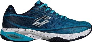 b5e1477c2c4e Lotto Men Mirage 300 Clay Tennis Shoes Clay Court Shoe Light Blue -  Lightgrey 11