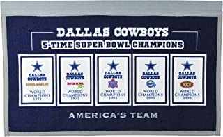 Winning Streak NFL Dallas Cowboys Rafter Raiser Banner
