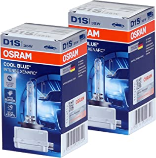 D1S - Osram Xenarc 66140CBI (Cool Blue Intense) HID Bulbs - Pack of 2