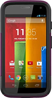 OtterBox COMMUTER SERIES for Moto G (1st Gen ONLY) - Retail Packaging - LILAC (POP PINK/SLATE GREY)