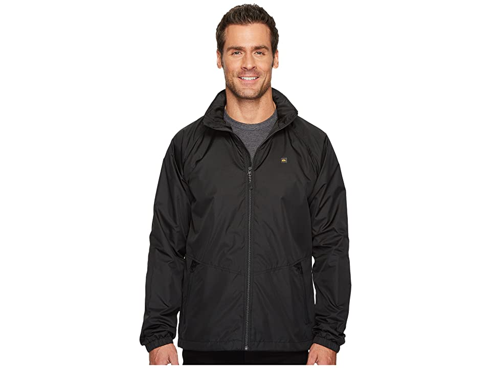 Quiksilver Waterman Shell Shock 3 Jacket (Black) Men