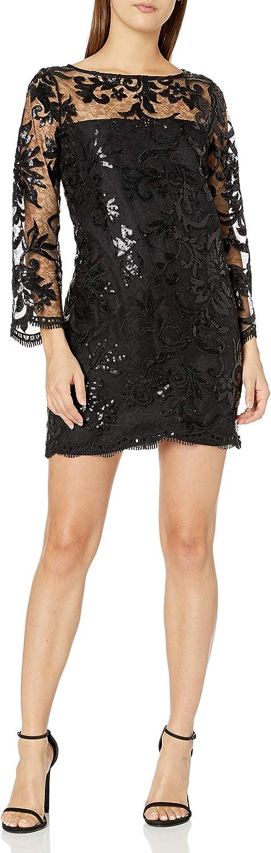 cupcakes and cashmere Women's Callista Sequin Lace Dress