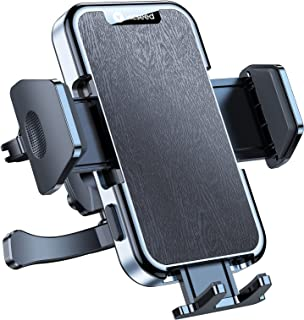 VICSEED Military-Grade Car Phone Holder Mount, [Upgrade Never Fall Off & Break] Universal Air Vent Cell Phone Holder for C...