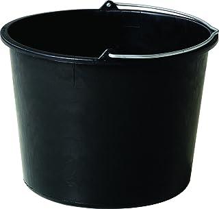 Practo PE20 Seau en plastic 20 l, Noir, 20l
