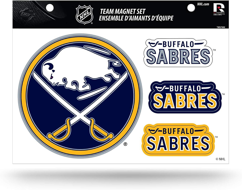 NHL Buffalo Sabres Die Cut Team Magnet Set Sheet : Sports & Outdoors