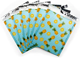 Fuxury Fu Global #2 8.5x12 Inches Pineapple Poly Bubble Mailers Designer Boutique Custom Padded Envelopes High-grade pearl...