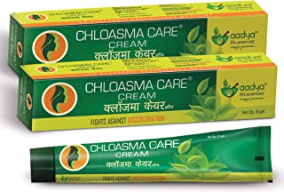 Aadya Life Sciences LLP Chloasma Care Cream for Hyperpigmentation, Stretch marks, Blemishes, 30g(Pack of 2)