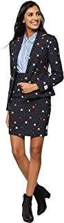 Christmas Suits for Women in Different Prints - Ugly Xmas Sweater Costumes Include Blazer and Skirt