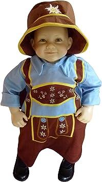 FIESTAS GUIRCA Disfraz Mariquita en Peluche beb/é ni/ña Talla 12-18 Meses
