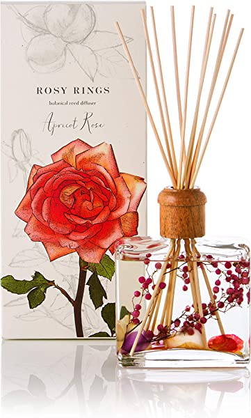Rosy Rings Botanical Reed Diffuser Apricot Rose