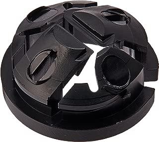 ARLINGTON INDUSTRIES NM94 Black Button Non-Metallic Push-in Connector, 1/2 in, 250 PER Box, (1/BX)