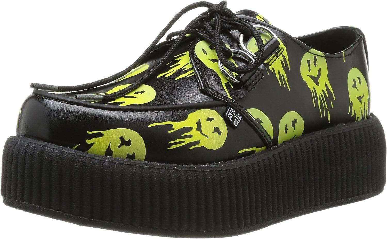 T.U.K. Original Footwear Unisex Viva Mondo Melted Smiley Creeper