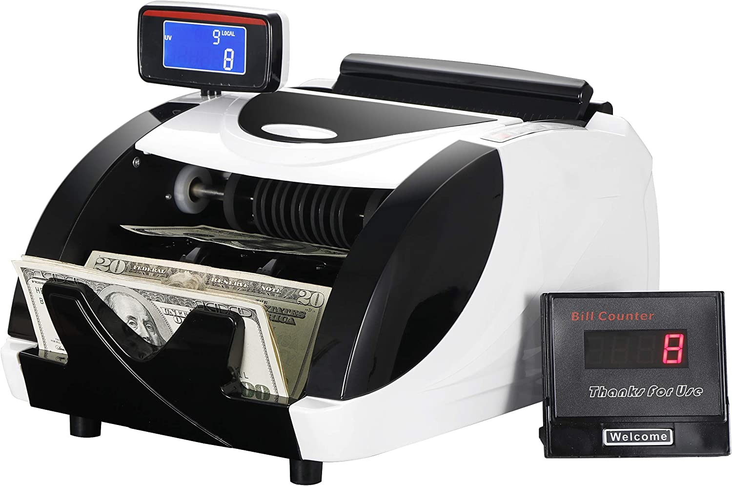 ZENY Money Counter Machine Cash NEW before selling special price Automatic Machi Bill Currency