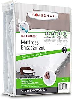 Guardmax Funda protectora de colchón para sofá cama con cr