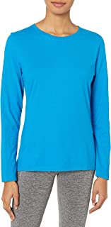Women's Long-Sleeve Crewneck T-Shirt 2P