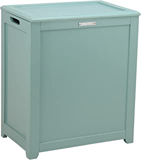 Oceanstar Storage Hamper Laundry, Turquoise