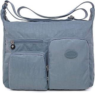 molto carino fc8d7 c6b24 Amazon.it: Blu - Borse a tracolla / Donna: Scarpe e borse