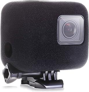 【ActyGo】GoPro hero7 hero6 hero5 用 アクセサリー 防風カバー 風切り音対策 高級スポンジ製 365日保証
