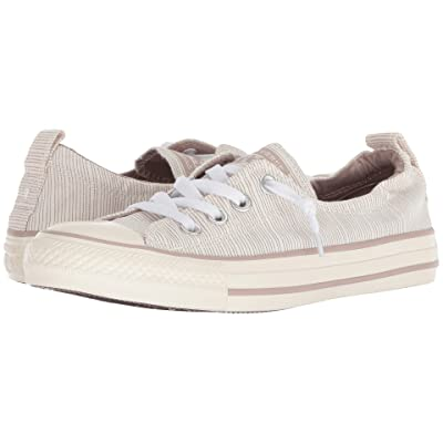 Converse Chuck Taylor All Star Shoreline Prep Style Slip (Diffused Taupe/Egret/Egret) Women