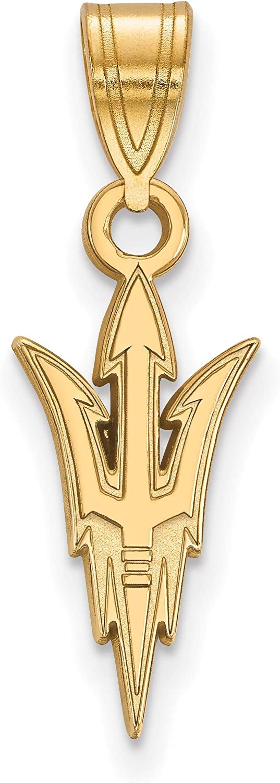 10k Yellow Long-awaited Gold Arizona State Logo Devils Sun Online limited product University Trident