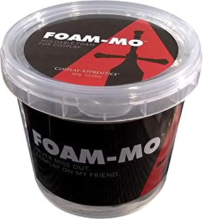 Foam-Mo Air Dry Moldable Foam Clay for Cosplay 300 Gram
