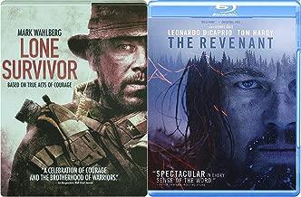 Courage True Events Revenant Wilderness 2 Blu-Ray Bundle & Lone Survivor Navy Seals Steelbook Double Feature Movie Bundle