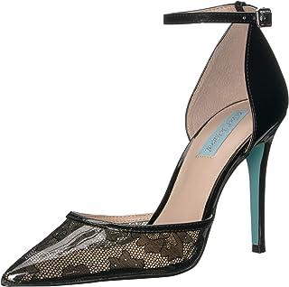 حذاء نسائي SB-Moira أزرق من Betsey Johnson ، أسود، 7. 5 M US