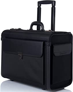 heritage rolling briefcase