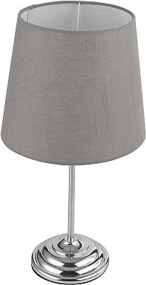 Globo 21001C Lampe de Table, 40 W, Gris
