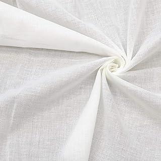 国産 シングル ガーゼ生地 約135×200cm 綿100% 無地 オフホワイト 白 コットン 布