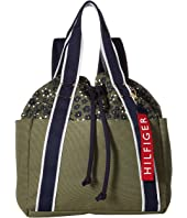 Tommy Hilfiger Classic Tommy Drawstring Backpack