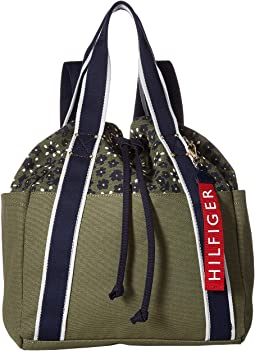 Classic Tommy Drawstring Backpack