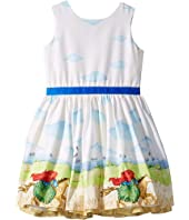 Horse & Rider Party Dress (Toddler/Little Kids)