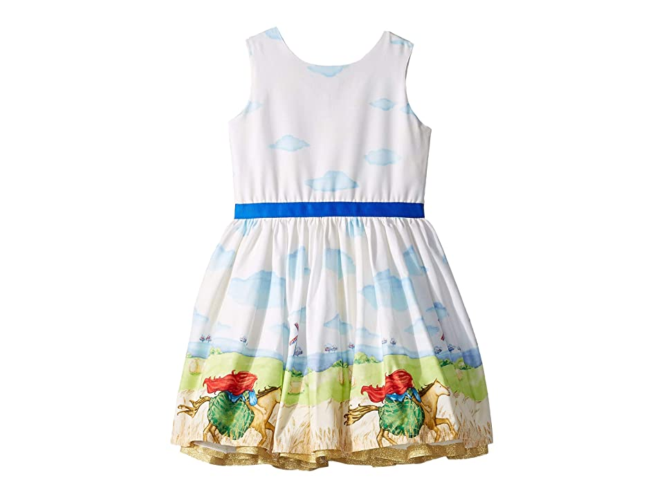 fiveloaves twofish Horse Rider Party Dress (Toddler/Little Kids) (Ivory) Girl