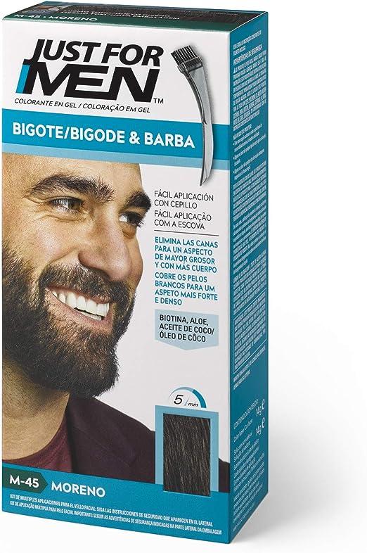 Just For Men, Tinte Colorante en gel para barba y bigote para ...
