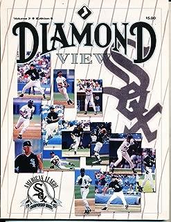 1993 American League Championship White Sox Toronto Blue Jays Program MLBCh1