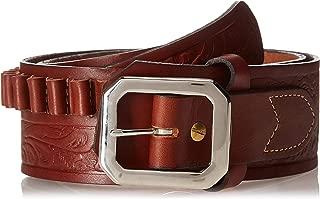 36 Hunter 5801-36 1 4 Stitched Belt Brown
