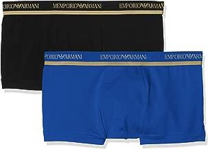 Emporio Armani Men's Stretch Cotton Xmas Special Edition Bipack Trunk