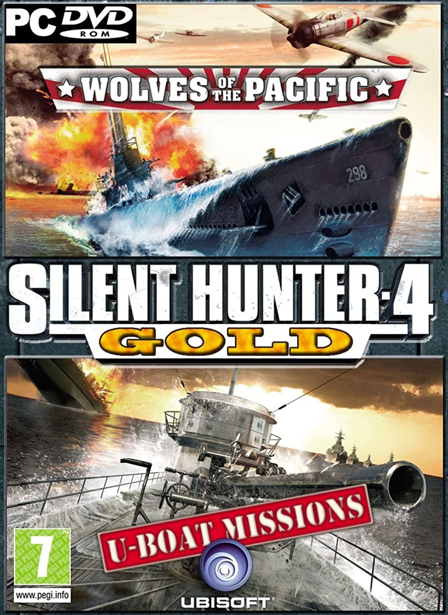 寸前バンカー絶望的なSilent Hunter 4: Wolves of the Pacific Gold Edition (英語版) [ダウンロード]