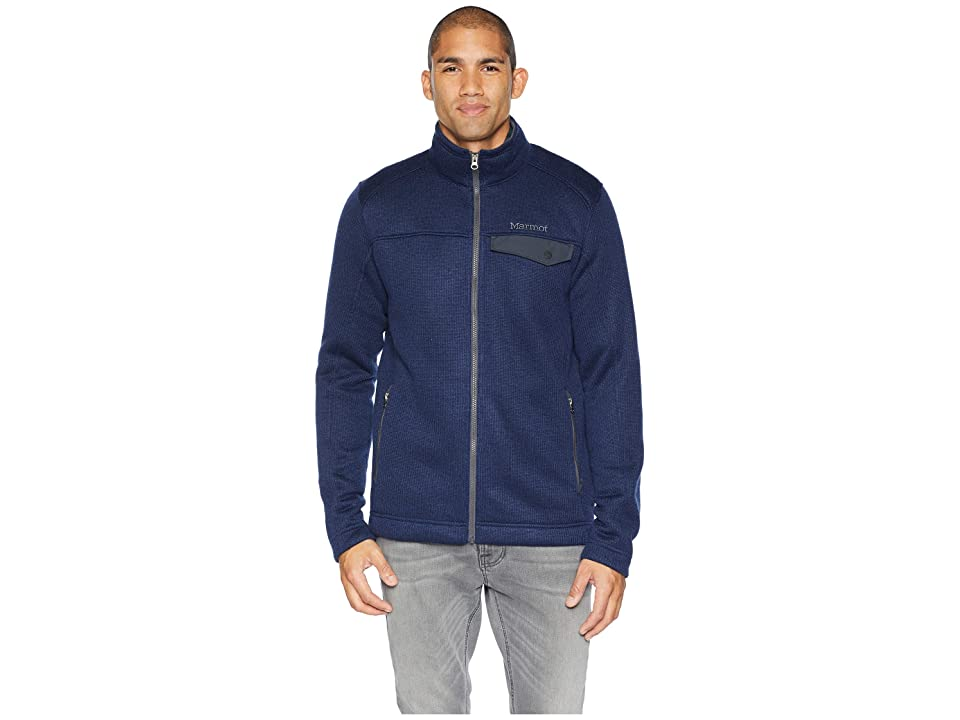 Marmot Poacher Pile Jacket (Dark Indigo Heather) Men