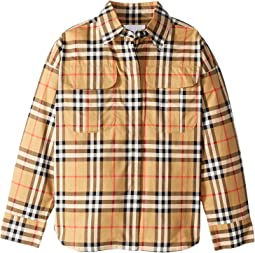 Sasha Check Dress Shirt (Little Kids/Big Kids)