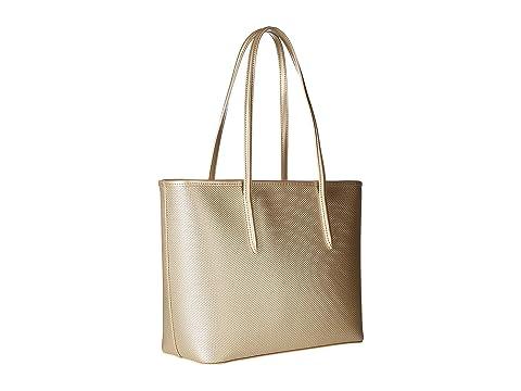 cierre Holidays Bolso de Chantaco mediano Gold Lacoste Rich con compras xUwYqf5E