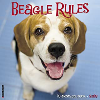 beagle calendar 2018